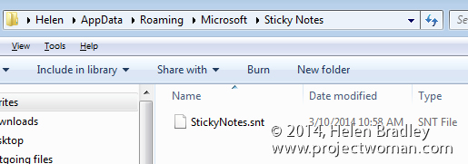 sticky notes how to find to backup Format Sticky Notes   Learn the Hidden Secrets