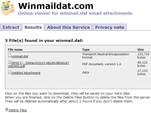open winmaildat files easily 1 How to Open Winmail.dat files