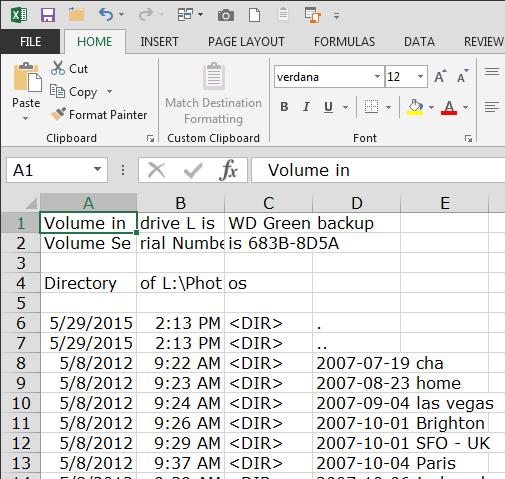 print a file list from windows explorer 5 Print a List of Files in a Windows Folder