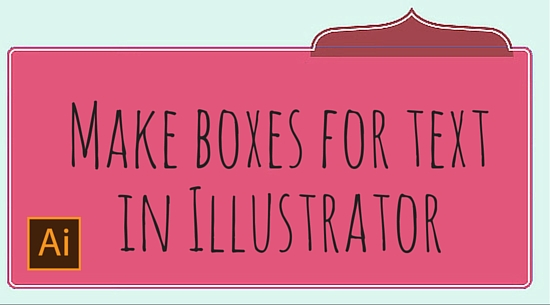 Make boxes for text in Illustrator Draw Colorful Boxes for Text in Illustrator
