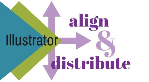 22 illustrator align and distribute How to Align and Distribute Shapes in Illustrator