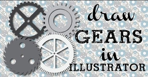 52 steampunk gears illustrator Go Steampunk! Learn to draw gears and cogs in Illustrator