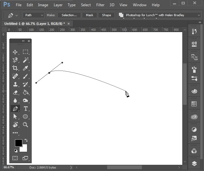 Drawing Lines In Photo Cc : Pen tool and the rubber band � projectwoman